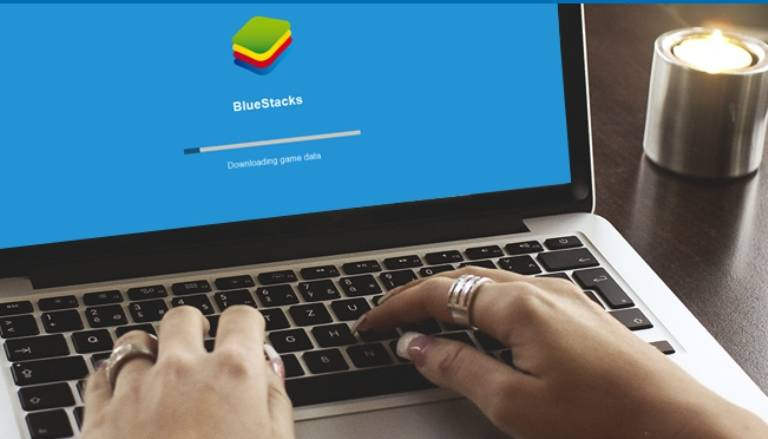 удалить Bluestacks с компьютера
