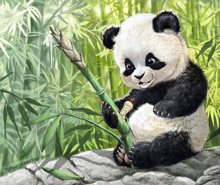 cute_panda_cub_and_grub_by_psithyrus-d3go1fr-582f1c4e5da18__700