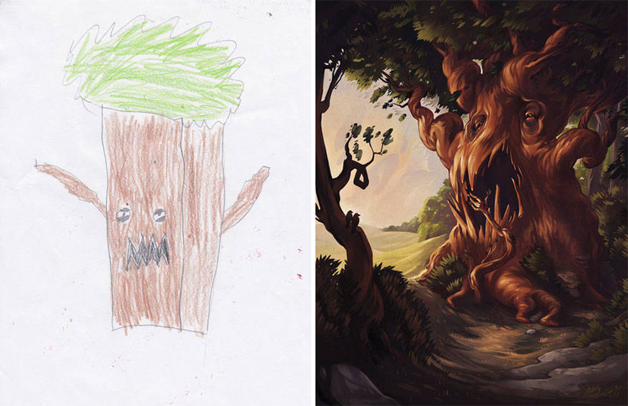 kids-drawings-inspire-artists-monster-project-14-58359e9dc927a__880