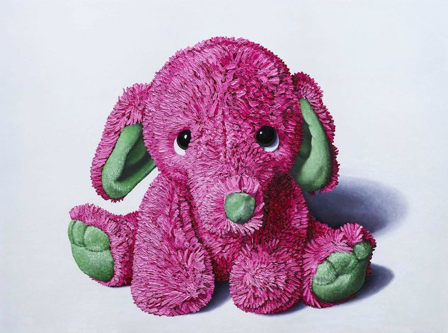 pink-elephant-stuffed-animal-painting-brent-estabrook-583f11f08bc2b__880