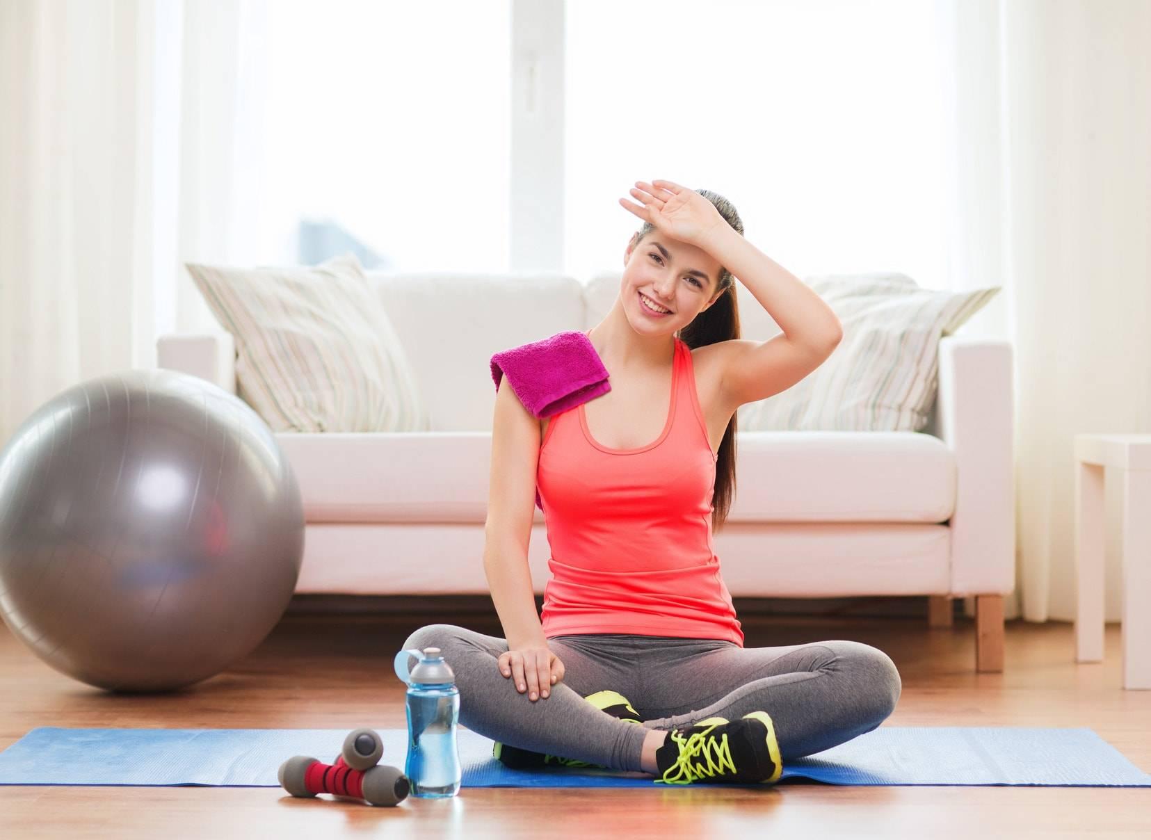 Как похудеть во время тренировки