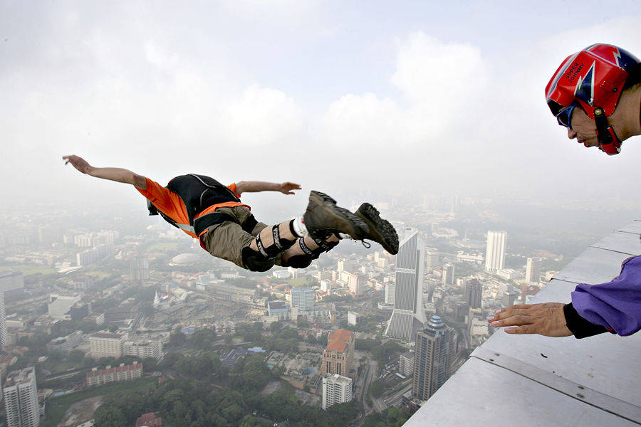 Прыжки с небоскребов #1
