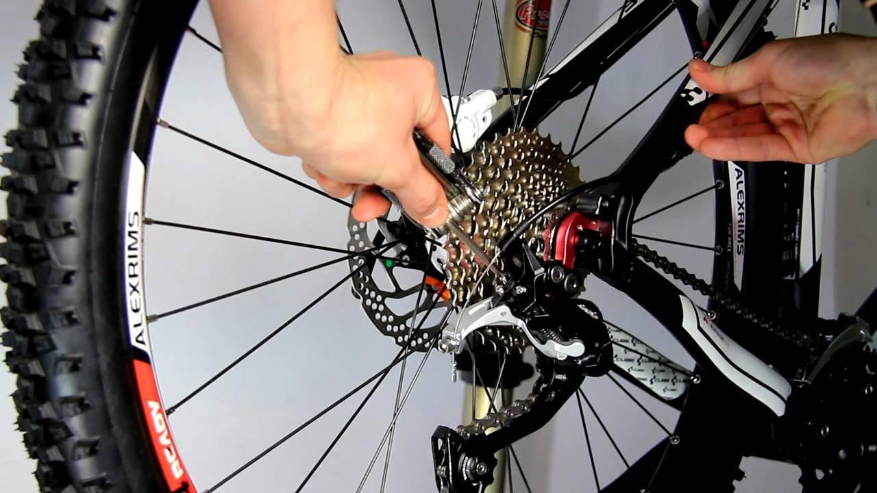 Фото - как установить цепь на скоростной велосипед