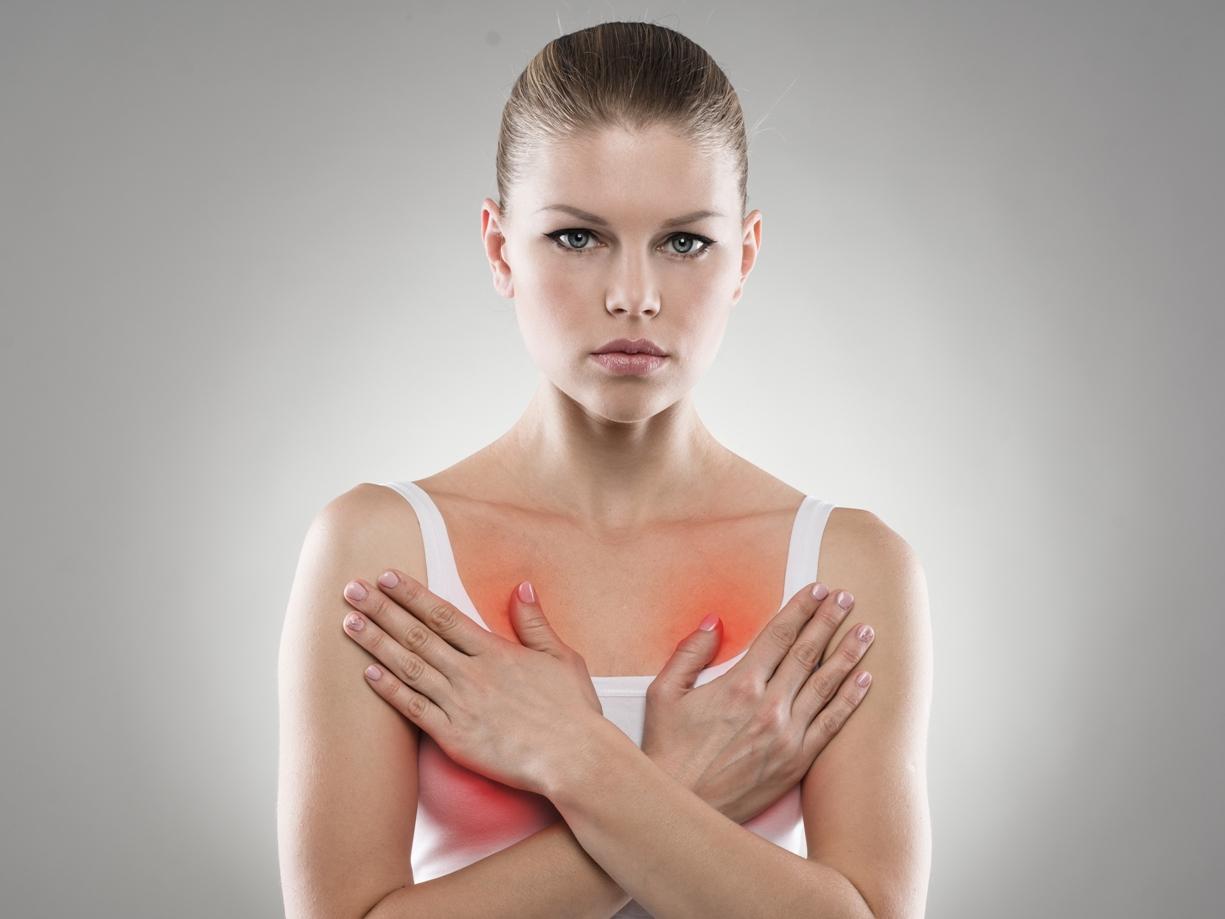 К чему чешется правая грудная железа