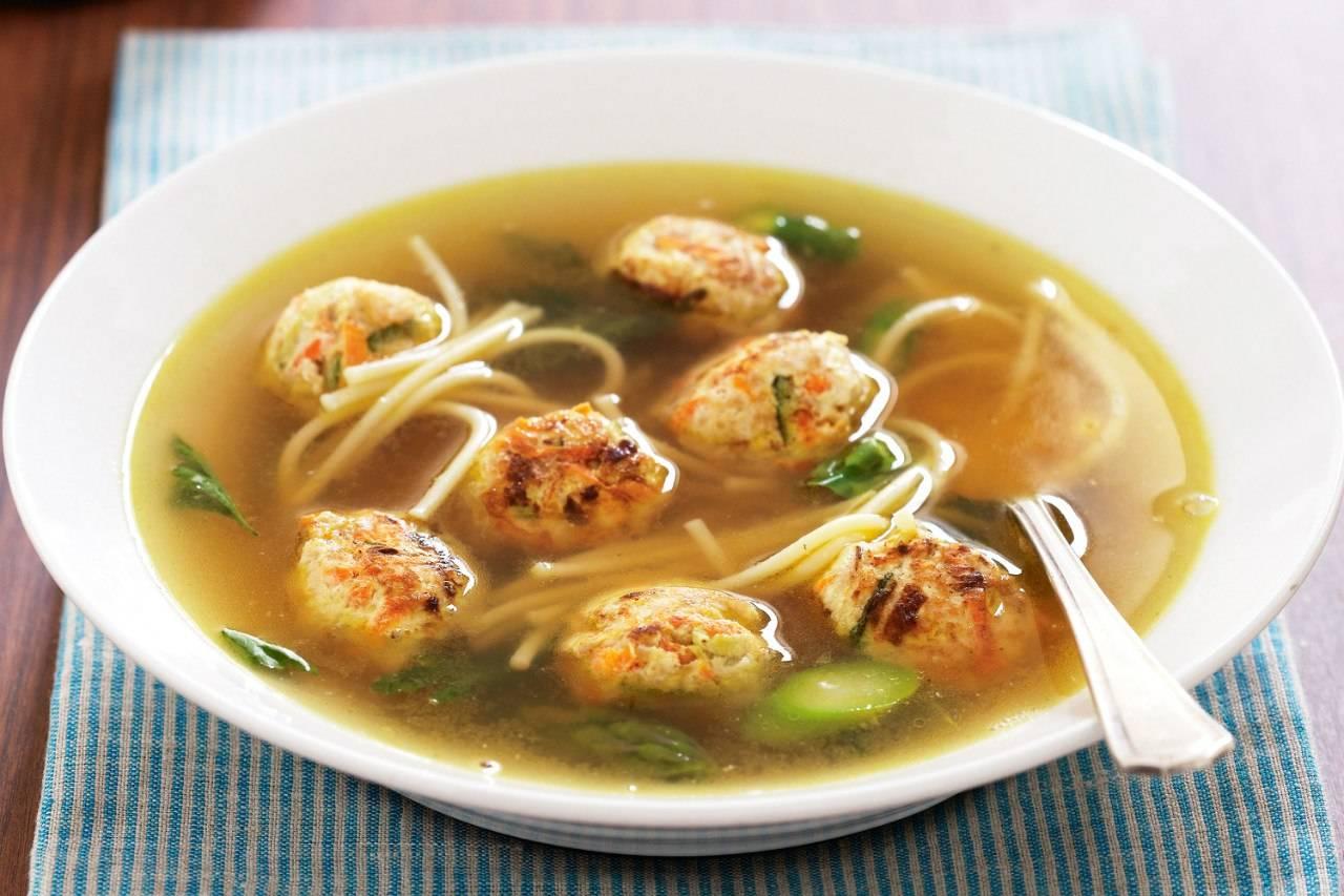 картинки суп лапша с фрикадельками произвести