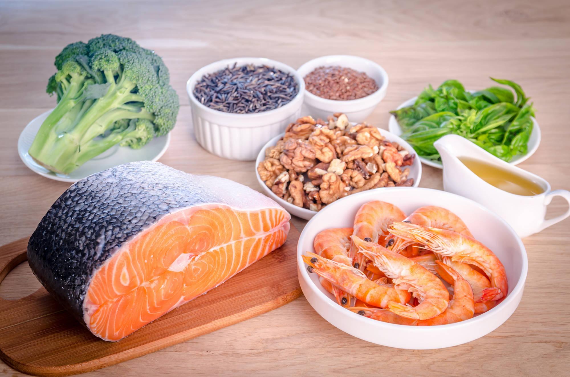 Диета для похудения из морепродуктов