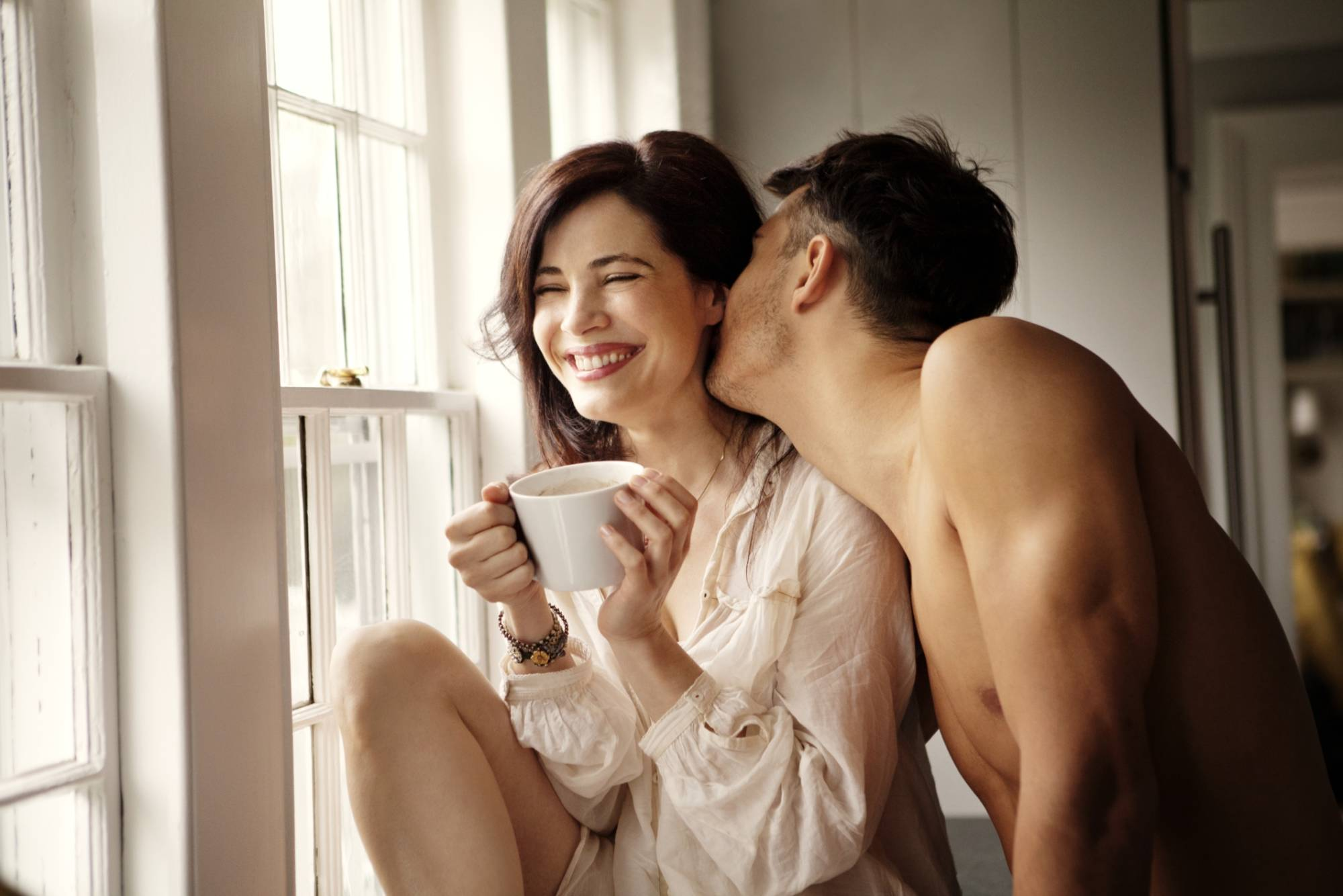 Картинки пара влюбленных доброе утро