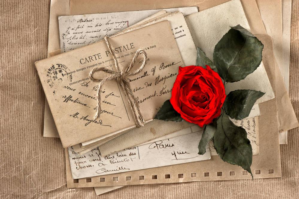 Открытки, фон книга для открытки с днем рождения