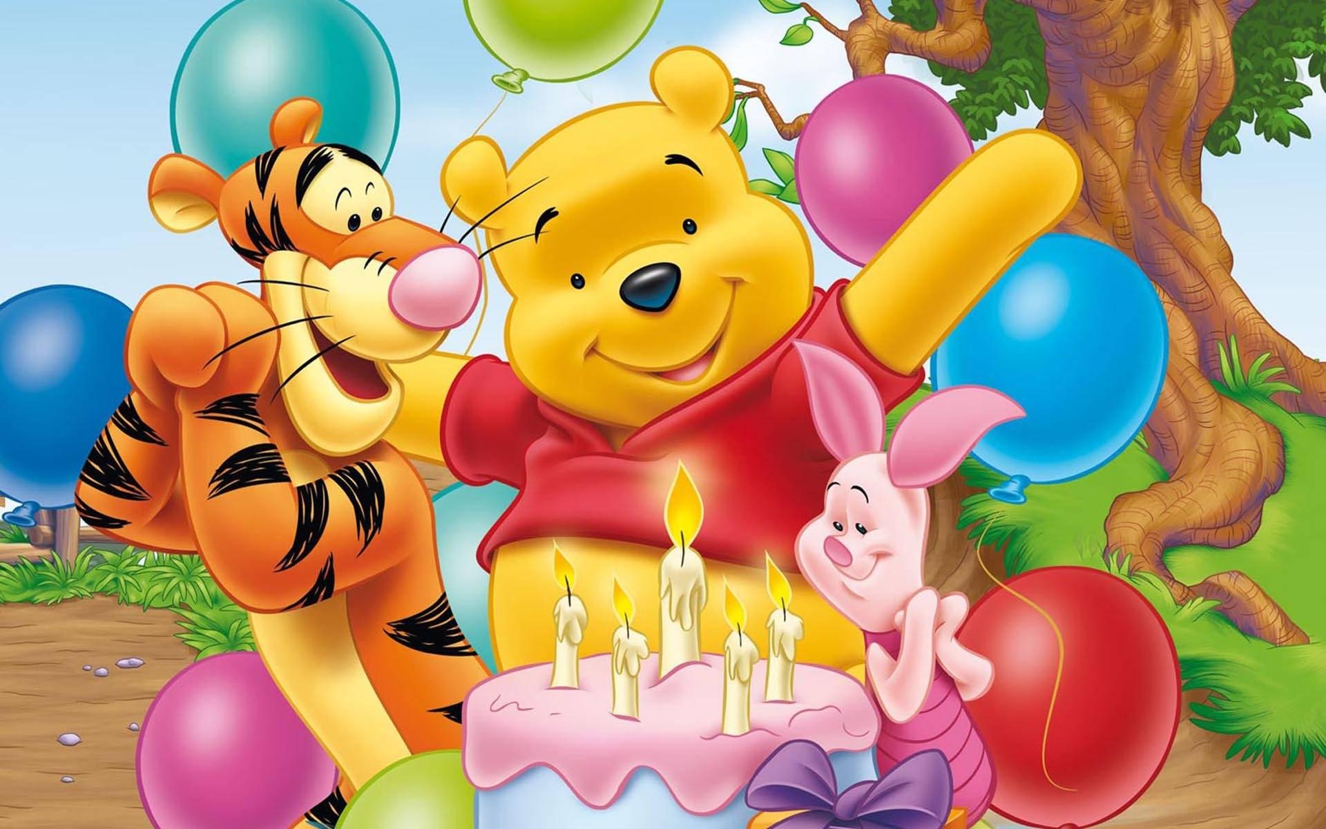 Детские открытки с днем рождения из мультиков