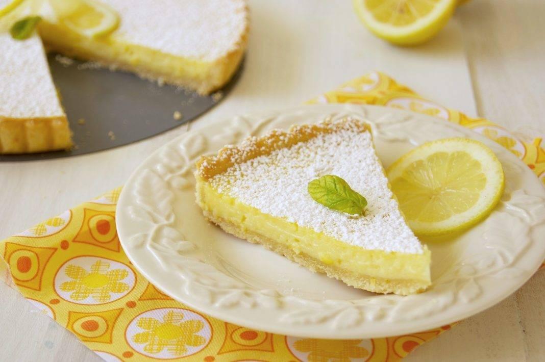Французский лимонный пирог рецепт с фото пошагово
