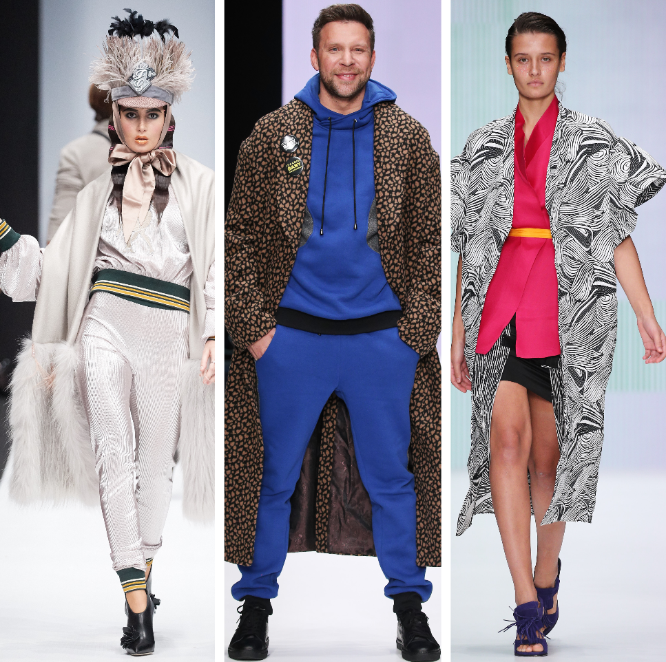 тренд смешивание стилей в одежде спорт шик