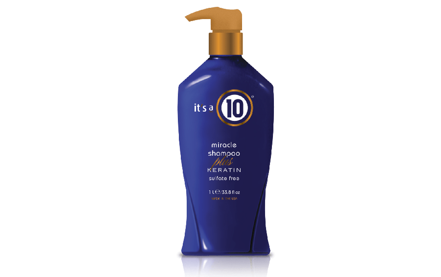 It's a 10 Haircare Miracle Shampoo Plus Keratin Sulfate Free