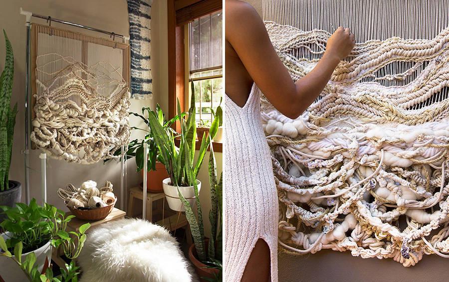 Ткачество на раме в домашних условиях