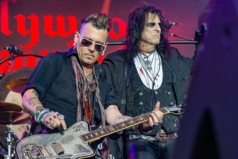 концерт Hollywood Vampires