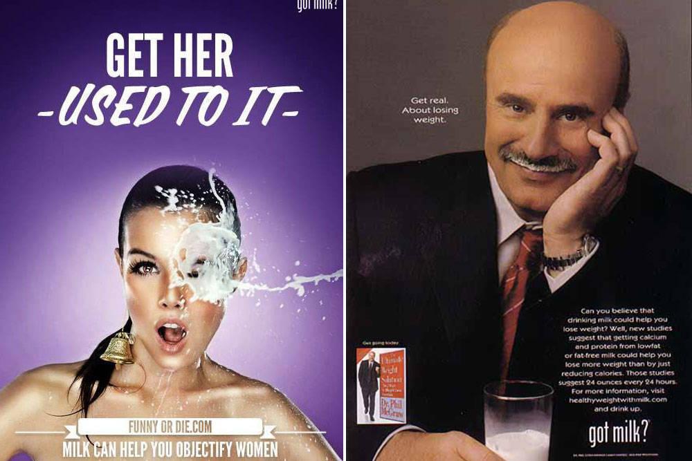 реклама get milk