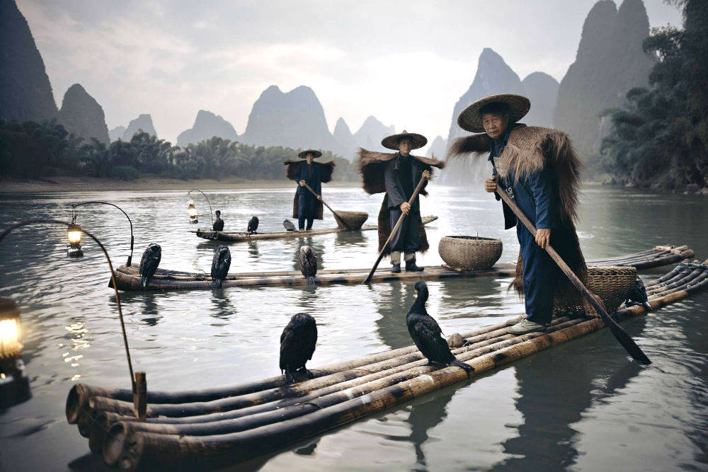 Племя йянгшуи, Китай