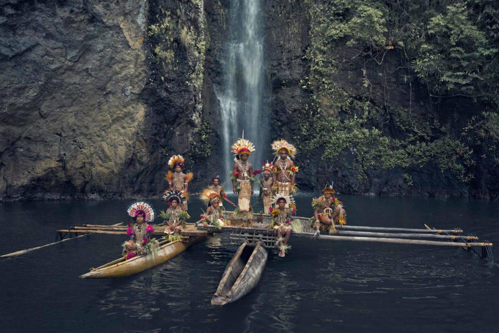 Племя урамана, Папуа - Новая Гвинея
