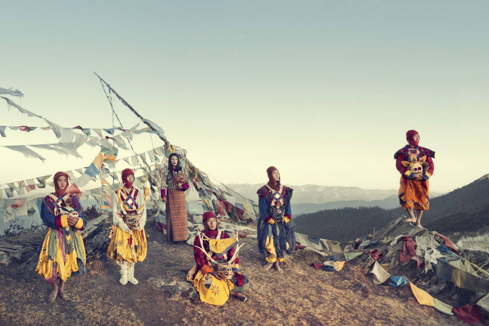 Племя пар, Бутан