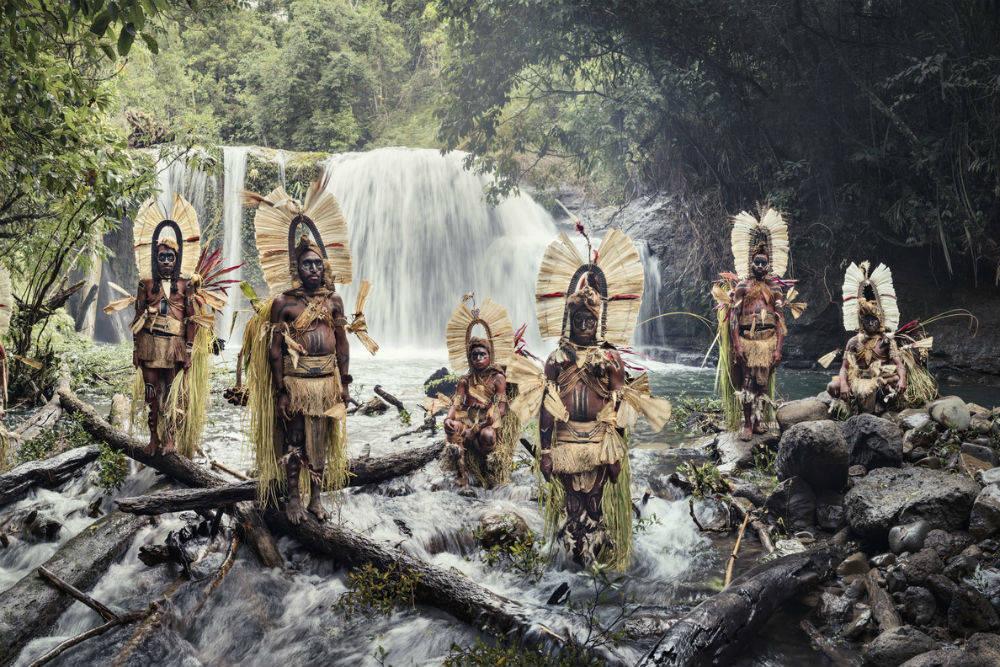 Племя горных босави, Папуа - Новая Гвинея