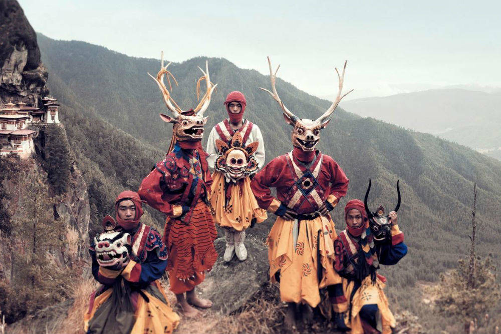 Племя паро, Бутан