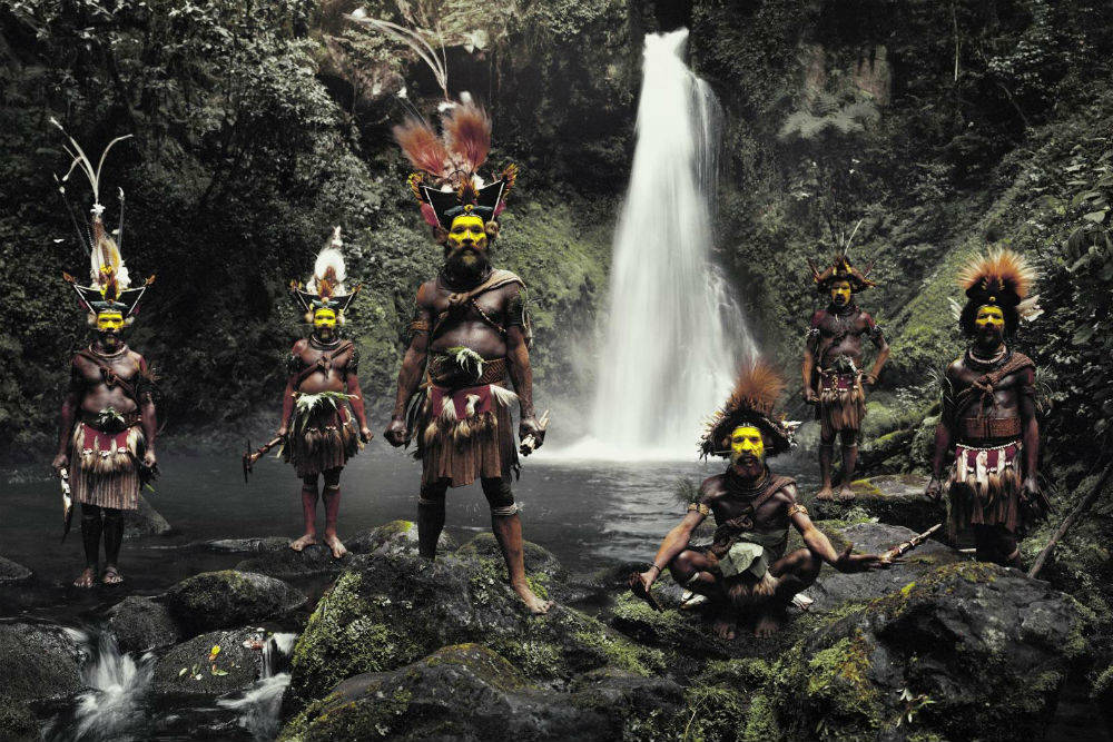 Племя вигменов, Папуа-Новая Гвинея