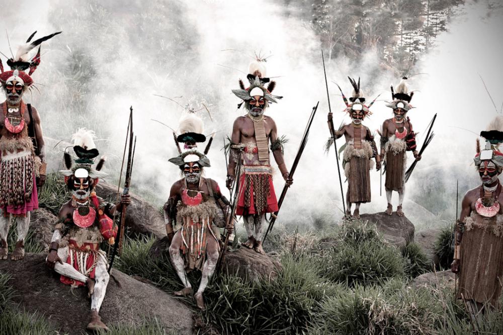 Племя лайкайпия, Папуа - Новая Гвинея