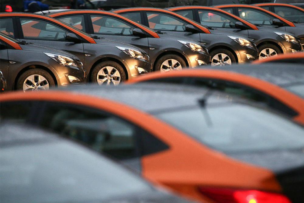 каршеринг парковка и заправка