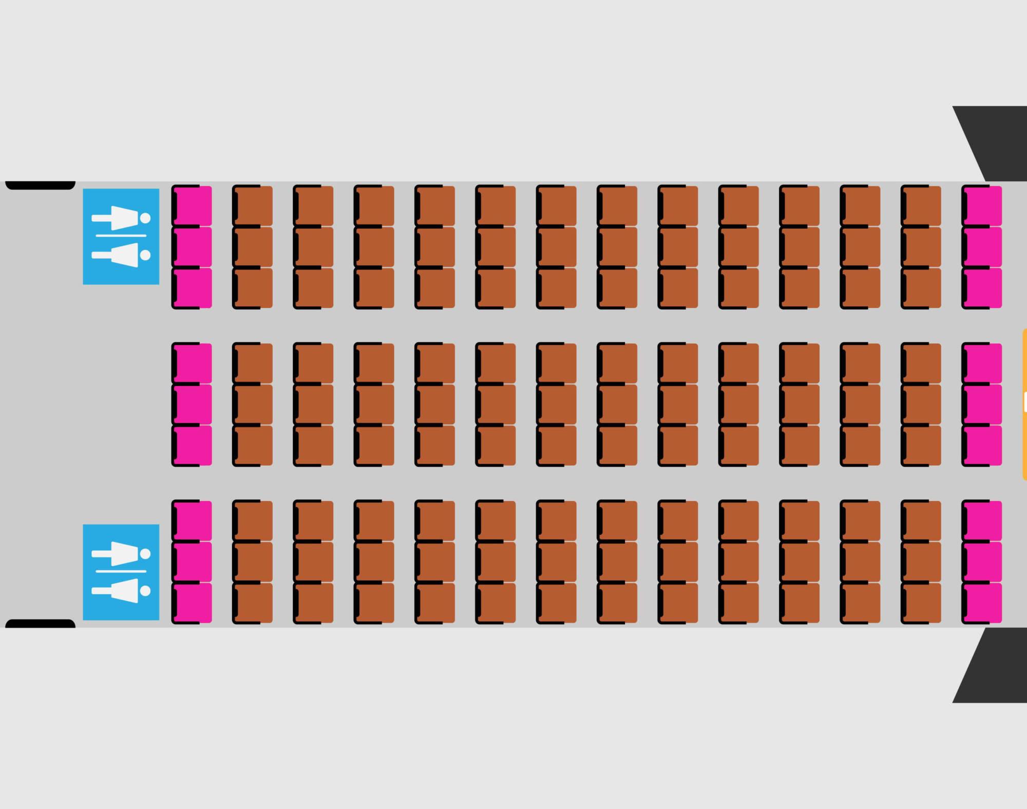 куда сесть если летишь в самолете с ребенком