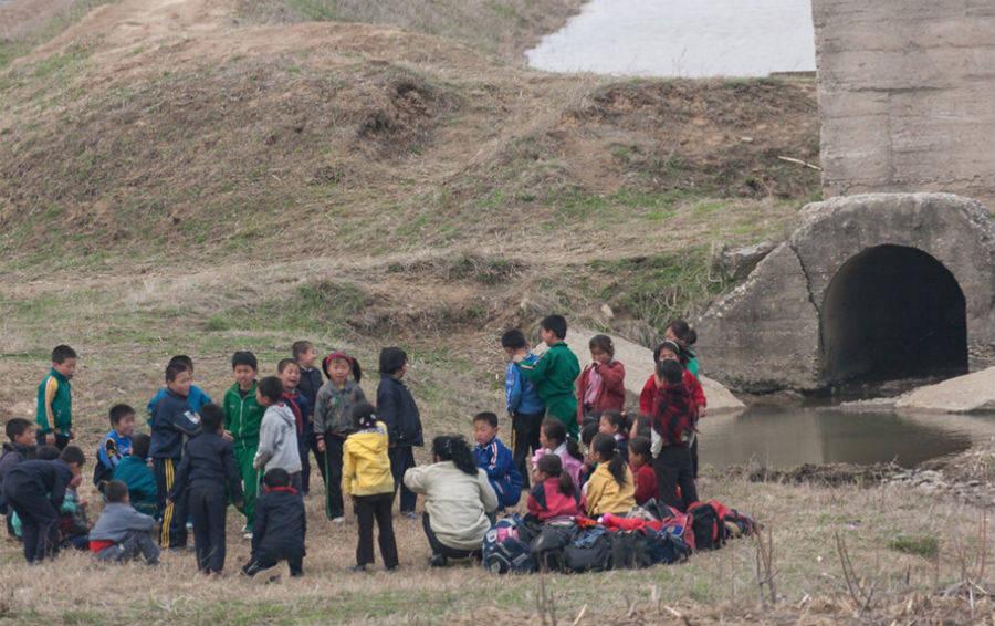 детский пруд Пхеньян
