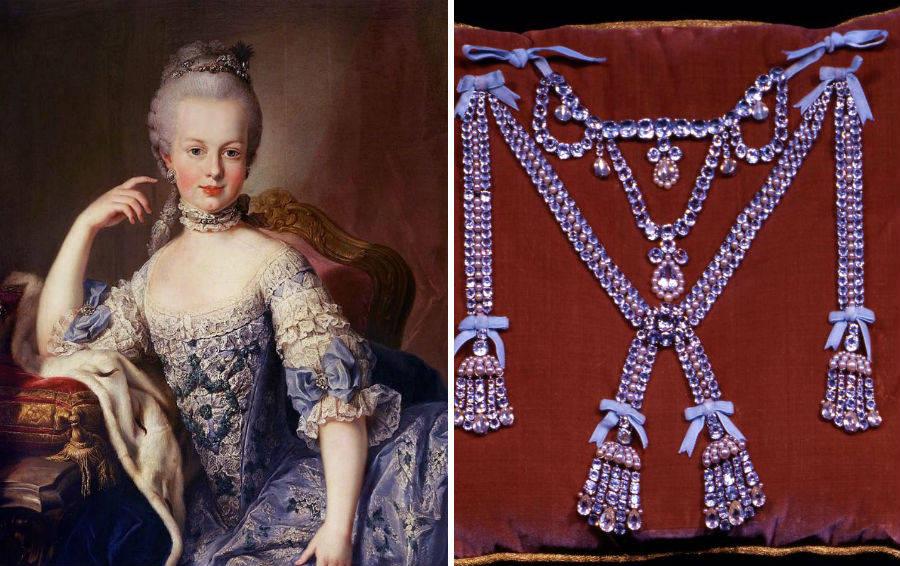 Ожерелье Марии-Антуанетты
