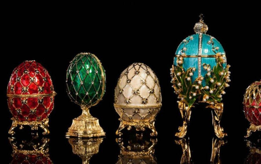 Фамильные ценности дома Романовых: яйца Фаберже