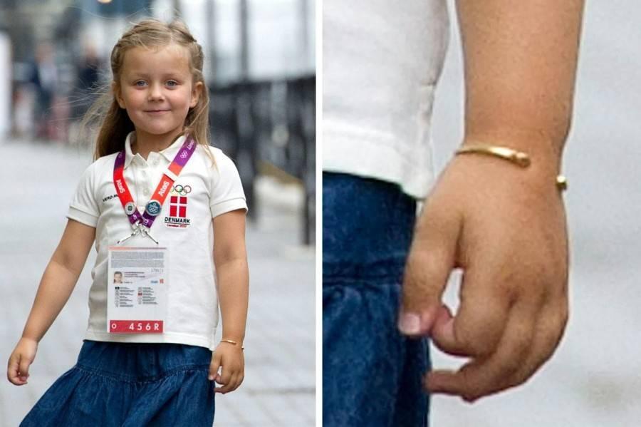 Золотые браслеты датских принцесс