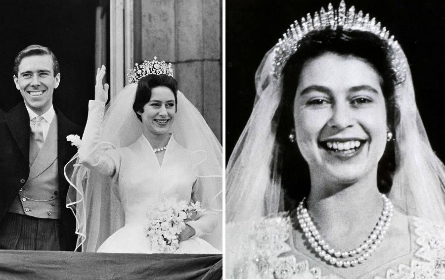 Свадебная тиара Елизаветы II